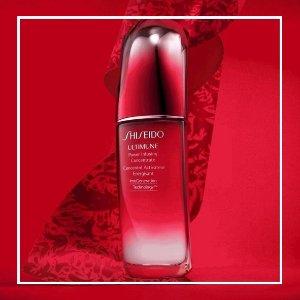 买1送1+无任何税!$175/瓶100ml手慢无:Shiseido资生堂 红腰子精华100ml 加拿大最大75ml