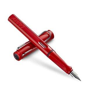 仅售14.5欧德国之光:LAMY 凌美 16-M 钢笔Safari 幸运红色
