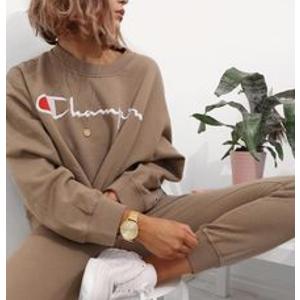 满$65减$15Champion 官网超实用卫衣、T恤等热卖