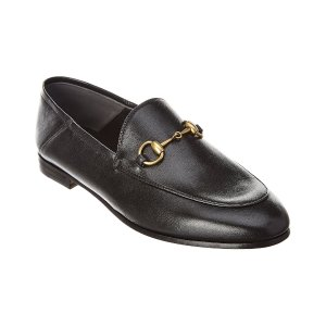 GucciBrixton Horsebit Leather Loafer