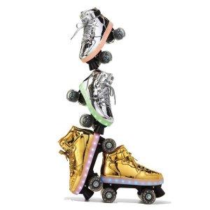 Kids' Pulse Light-Up Skates, Gold @ Bergdorf Goodman