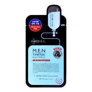 Mediheal(可莱丝) M.E.N 男士专用黑炭矿物面膜 单片入