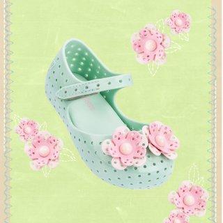 7.5折包邮Mini Melissa 新款儿童果冻鞋热卖