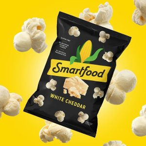30% Off Limited TimeSmartfood White Cheddar Flavored Popcorn, 0.625 Ounce, 40 Count