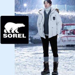 5折起 滑雪季和大叔孔侑一起穿BD狂欢节:Sorel $101收经典款冬靴 小脚妹子可穿大童款