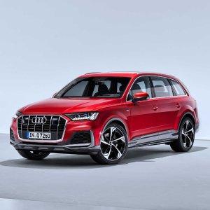 三个大屏幕 科技感十足中期改款 2020 Audi Q7 奥迪豪华SUV