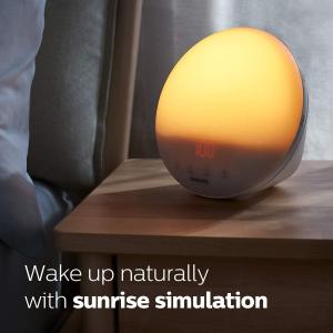 低至5.7折 £59起就收!折扣升级:Philips 智能唤醒床头灯好价 你的床边唤醒神器