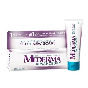 $14Mederma Advanced Scar Gel - 1x Daily - Reduces the Appearance of Old & New Scars - #1 Doctor & Pharmacist Recommended Brand for Scars - 1.76 oz.