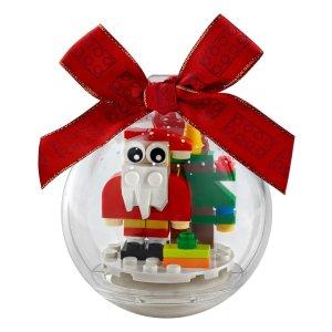 Lego10.1开始售卖圣诞装饰 圣诞老人