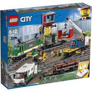 Lego适合6-12岁货运火车