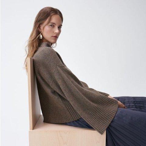 低至3折 封面毛衣$101 时尚设计感补货:Club Monaco 毛衣专场 羊毛衫$35 收温暖南瓜色