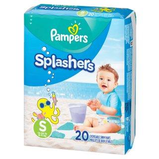 单片$0.46起 参加额外减$5宝宝游泳专用尿布热卖,帮宝适和好奇都有