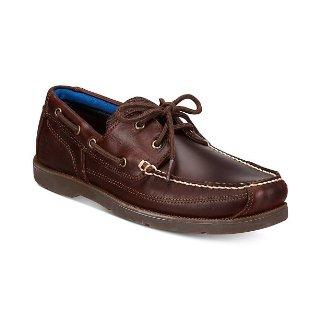 $49.99 相当于5折Timberland 男士 Piper Cove 皮革船鞋