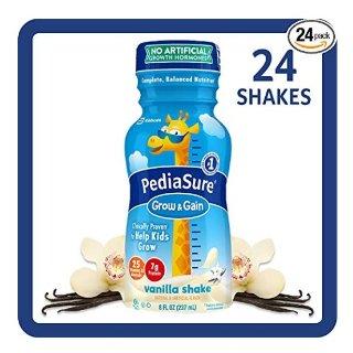 $28.24(原价$39.21)PediaSure 儿童营养饮料8盎司,24瓶,香草口味