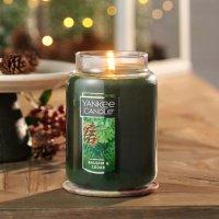 Yankee Candle 香脂和雪松大号香氛蜡烛