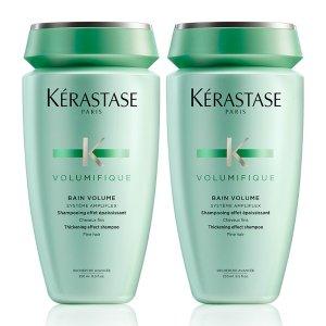 Kerastase丰凝充盈洗发水两件套装 250ml*2 细软扁塌发质