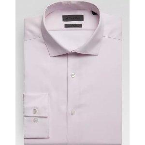 Calvin Klein3 for $99.99Infinite Grenadine Pink Slim Fit Dress Shirt - Men's Shirts   Men's Wearhouse