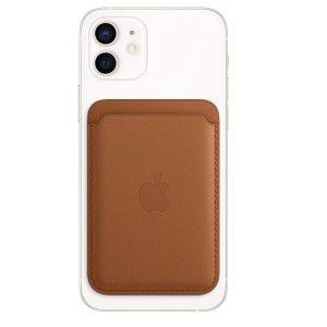 $65起iPhone 12 系列专用 官方MagSafe磁吸卡包/液态硅胶壳