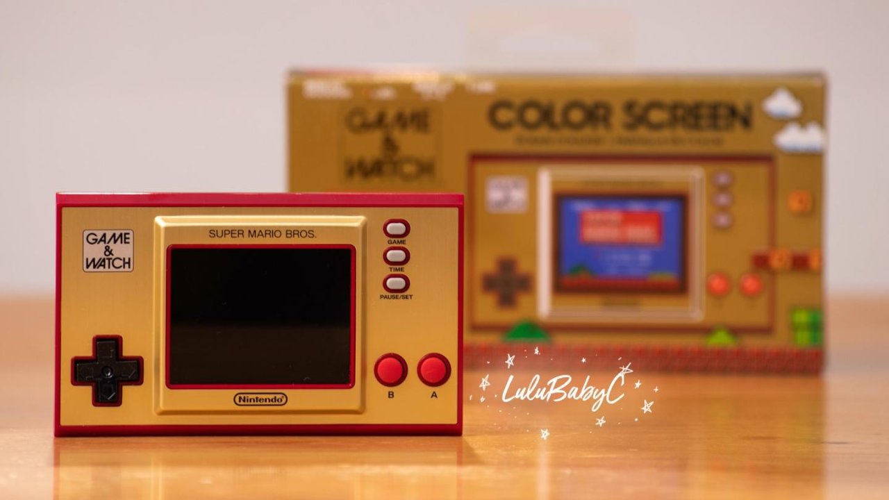Game & Watch 复刻版掌机:庆祝超级马里奥兄弟35周年