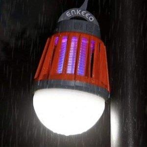 $25.49(原价$59.99)闪购:Enkeeo 2合1露营照明灯/灭蚊器