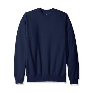 For $7.02 Hanes Men's Ecosmart Fleece Sweatshirt @Amazon.com