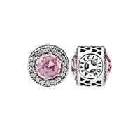 Pandora Silver & Pink CZ Appreciation 串珠