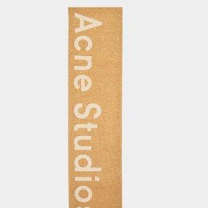 $168(原价$240)秋冬必备Acne Studios 网红款Toronto围巾
