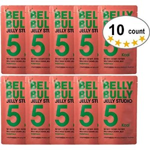 Belly Bully(2019 New Package) BELLY BULLY Down Jelly Erythritol-No Sugar, Low Calorie, Diet Jelly Drink Healthy Snack for Losing Weight (Watermelon)