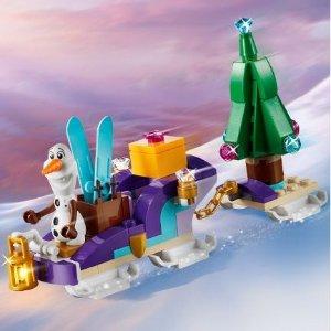 满额送封面Olaf雪橇套装LEGO官网 冰雪奇缘II 套装 满额送礼