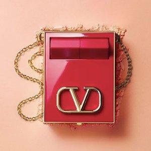限时8.5折 仅€41收大V口红Valentino Beauty 终于来啦 背在身上的高定补妆间 李佳琦力推!