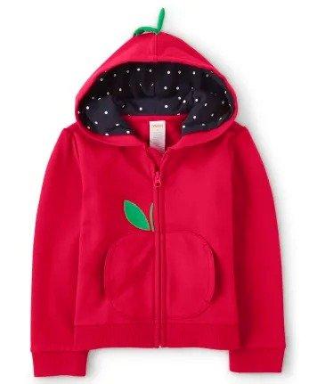 儿童小苹果卫衣