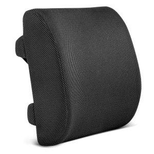 Restorology Orthopedic Memory Foam Lumbar Support Back Cushion