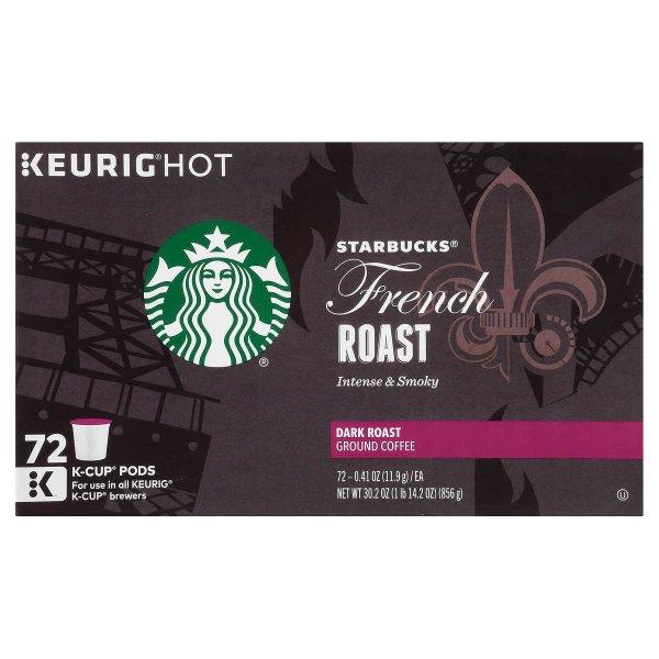法式K-cup 咖啡胶囊 72颗