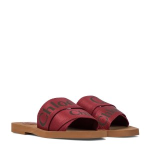 CHLOE绑带拖鞋