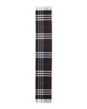 Burberry Men's Cashmere Giant-Check Scarf