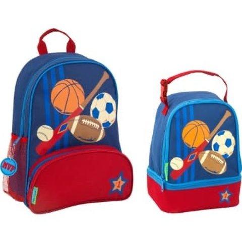 Stephen Joseph  Sports Sidekick Backpack & Lunch Pal