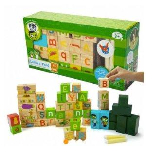 额外8折 $15.96($44.99)团购:PBS儿童积木套组 发掘孩子的创造力
