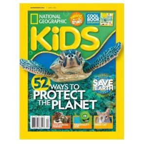 半年订阅价仅$9国家地理杂志儿童版年刊订阅优惠
