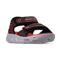 Skechers 男小童凉鞋