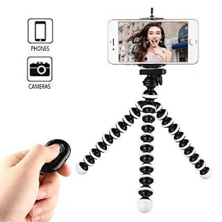 $6.49Kamisafe Mini Selfie Stick Phone Tripod Stand with Remote Control