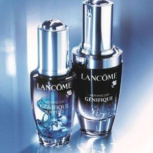 独家!Lancome 全线护肤彩妆热促 小黑瓶、菁纯系列都有