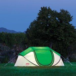 $43史低价:Coleman 自动款4人帐篷