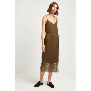 Rosemaria Lace Jersey Dress