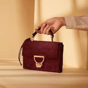 3折起+额外85折  CELINE质量超低的价格史低:COCCINELLE 意大利时尚真皮单肩包包热卖
