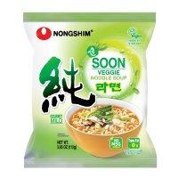 Nongshim 蔬菜味方便面, 3.95 Oz, 10包