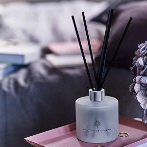 全线7.5折+满£45赠下午茶套装(£18)Crabtree & Evelyn 室内香薰香氛产品超值热销