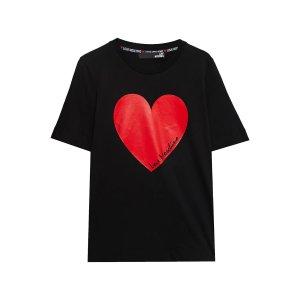 Love Moschino爱心T恤