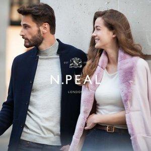 低至5折 高品质护你温暖一冬N.PEAL 真·英国皇室、007都爱的英国羊毛服饰品牌年末大促