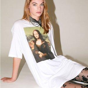 $34 + Free ShippingUrban Outfitters Mona Lisa Tee