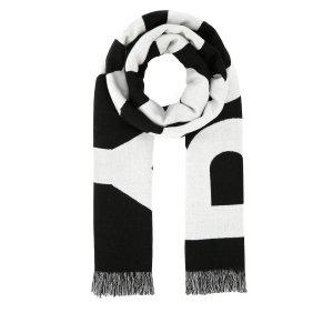 Burberry双面Logo围巾